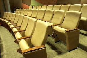 theatre seating considerations.