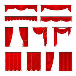 different types of theatre curtains